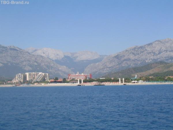 Красив все же берег турецкий...