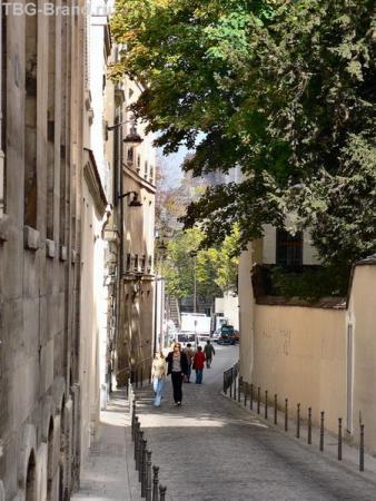 Улица Феру, где жил Атос