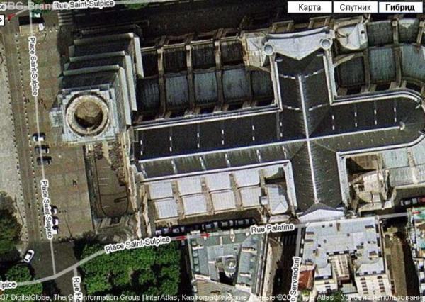 Церковь Сен-Сюльпис - там похоронен Атос