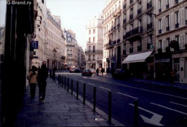 Улица старой Голубятни, где жил Портос
