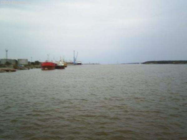 Вид с парома на пролив