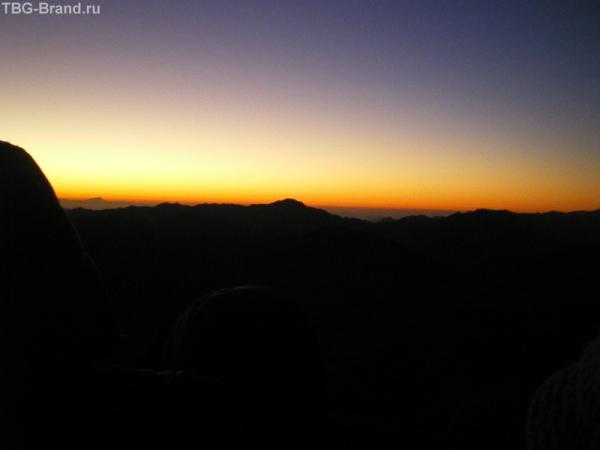 В ожидании солнца на горе Моисея