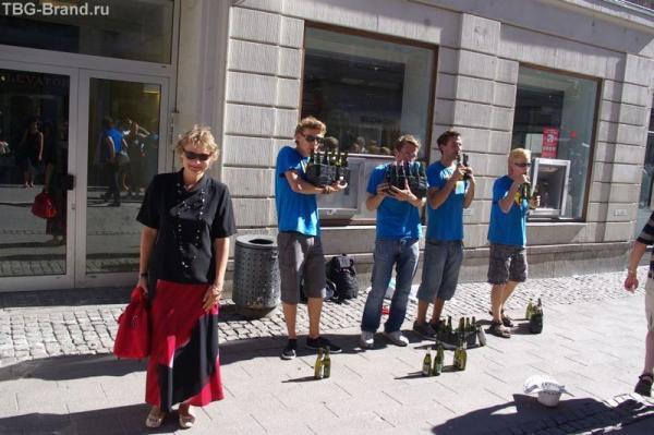 Группа бутылочных музыкантов