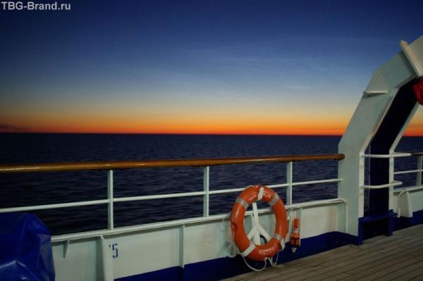 Балтийское море. 3 часа ночи