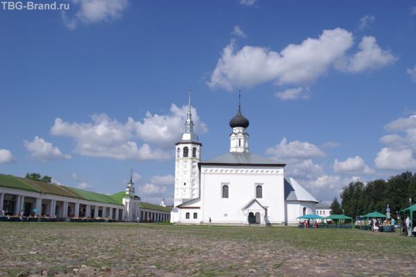 Центральная площадь Суздаля