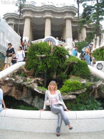 Барселона Парк Гауди