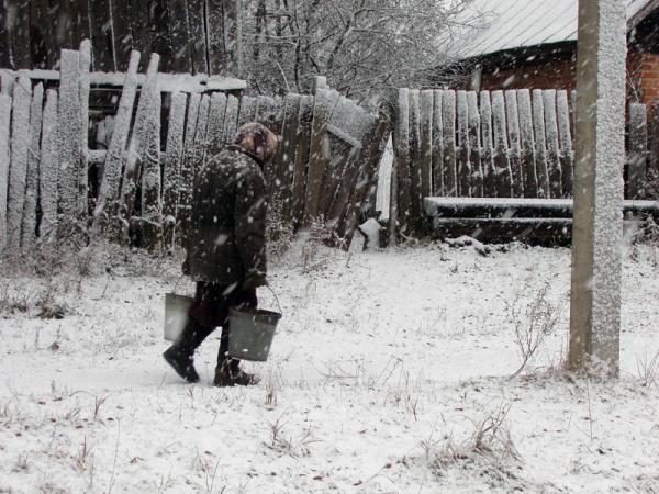Холод зимы.
