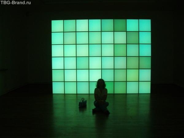 световая инсталяция