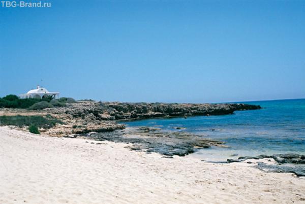 Пляж Agia Thekla