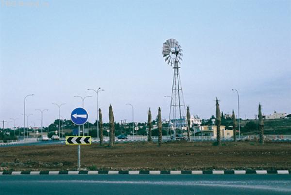 Ветряная мельница по пути из Паралимни в Айя-Напу