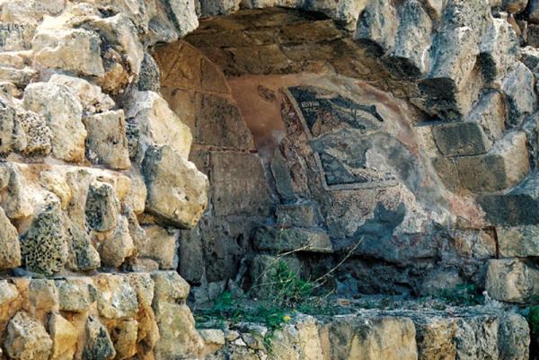 Саламис. Фрагменты мозаики