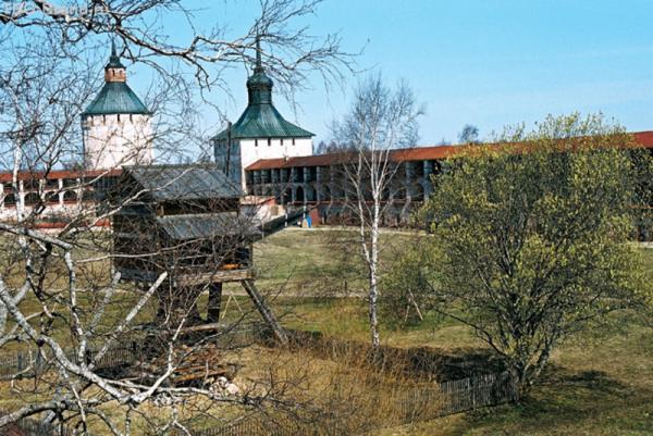 Кирилло-Белозерский монастырь. Мельница