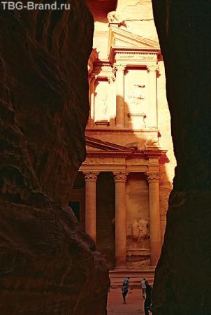 Петра. Гробница