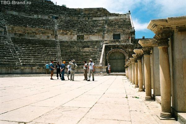 Амман. Римский амфитеатр