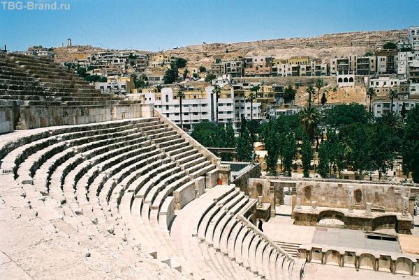 Амман. Римский амфитеатр 2