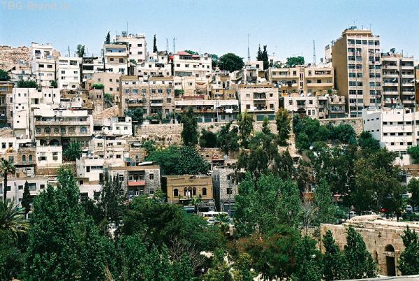 Амман. Вид на город с амфитеатра