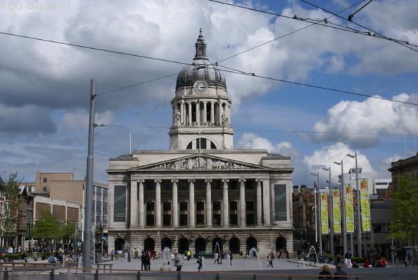 Nottingham. Town Hall