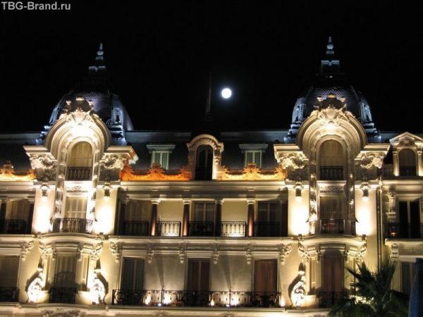 Монако. Отель де Пари
