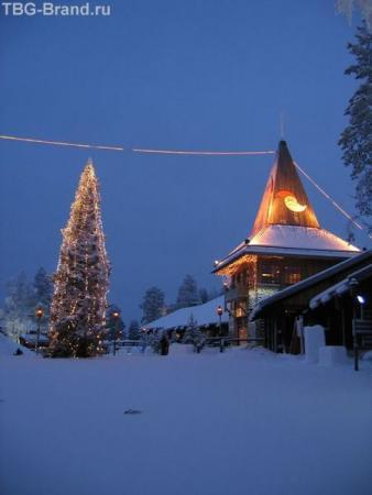 Финляндия. Деревня Санта-Клауса