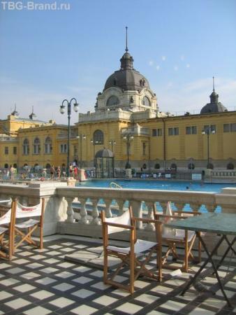Будапешт. Купальни Сечени