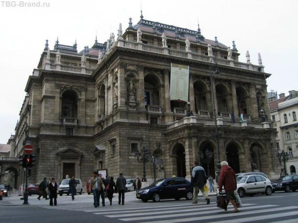 Будапешт. Оперный театр