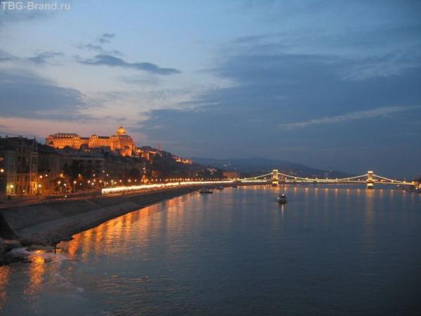 Будапешт. Вид с моста Эржбет
