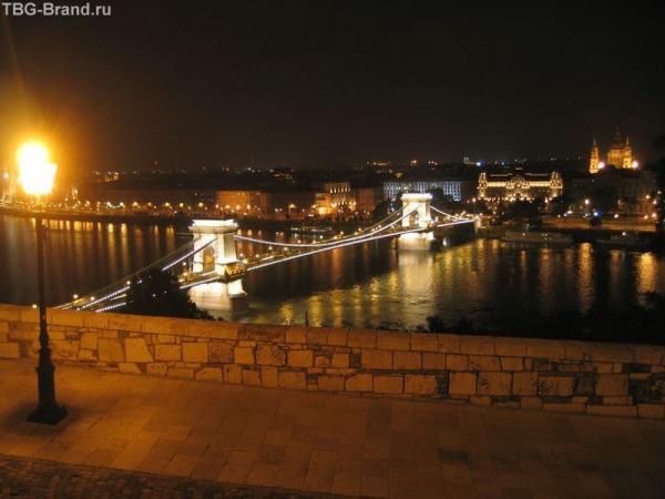 Будапешт. Вид со смотровой площадки перед Королевским дворцом