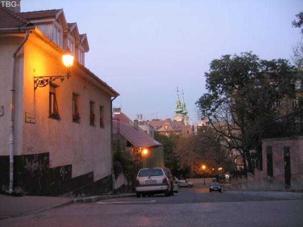 Будапешт. Улочка Буды