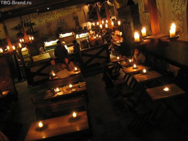Эстония. Таллинн. Ресторан Olde Hansa