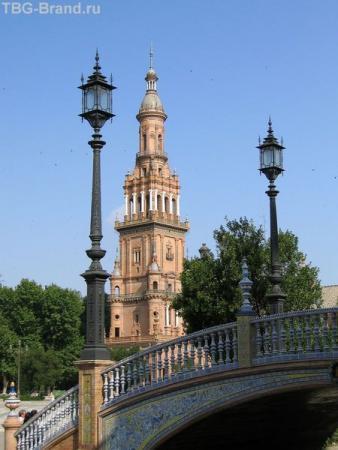 Испания. Севилья. Площадь Испании