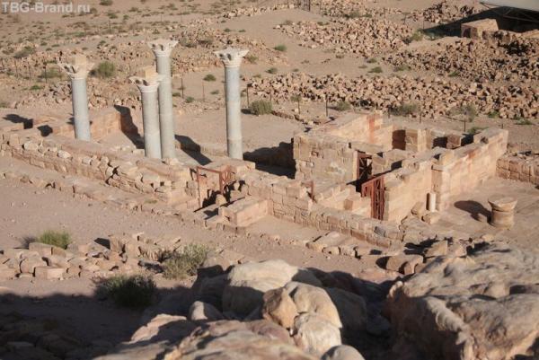 Иордания. Петра. Голубая церковь