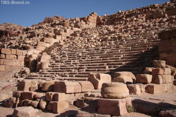 Иордания. Петра. Большой храм