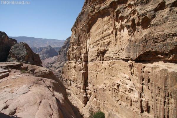 Иордания. Петра. Дорога к Монастырю
