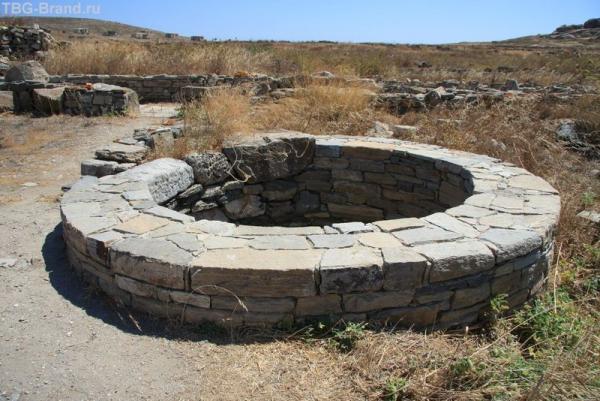 Греция. Остров Делос