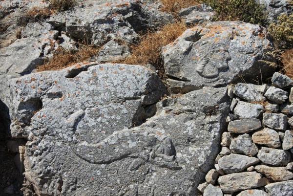 Греция. о. Санторини. Античная Фира
