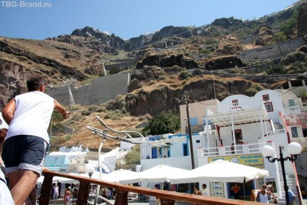 Греция. о. Санторини. Морская прогулка на загадочный вулкан