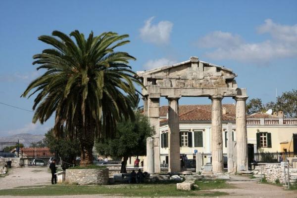 Круиз Южное созвездие. Греция, Афины. Римская агора