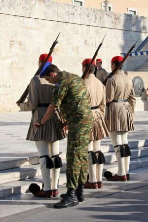 Круиз Южное созвездие. Греция, Афины. Площадь Синтагма