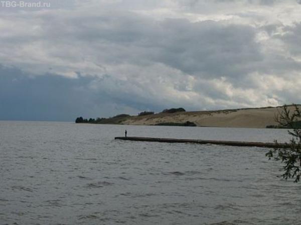 Нида, вид на дюны