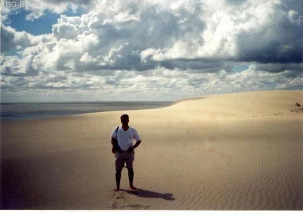 В пустыне...