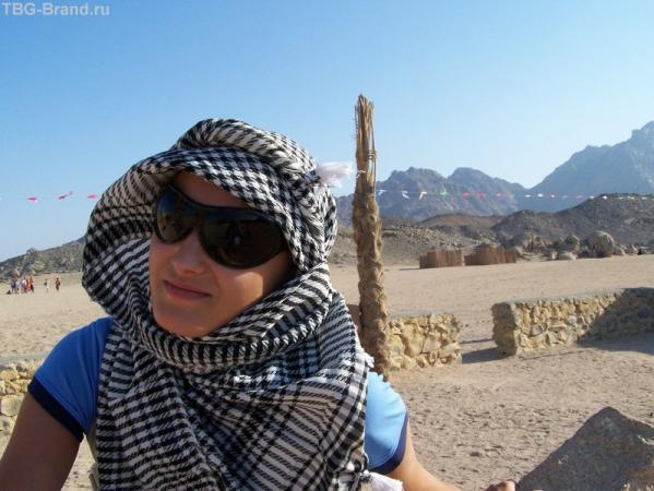 в бедуинской деревне
