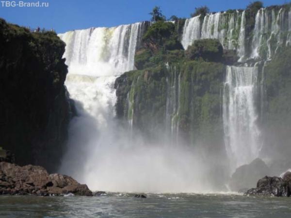 """""""Игуасу"""", под этим водопадом мы проплыли дважды"""