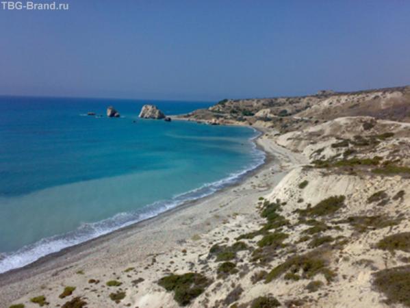 камень Афродиты, место где из моря вышла Афродита