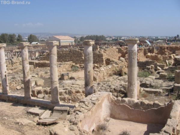 древний город в Пафосе