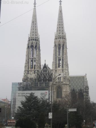 Votiv kirche в Вене