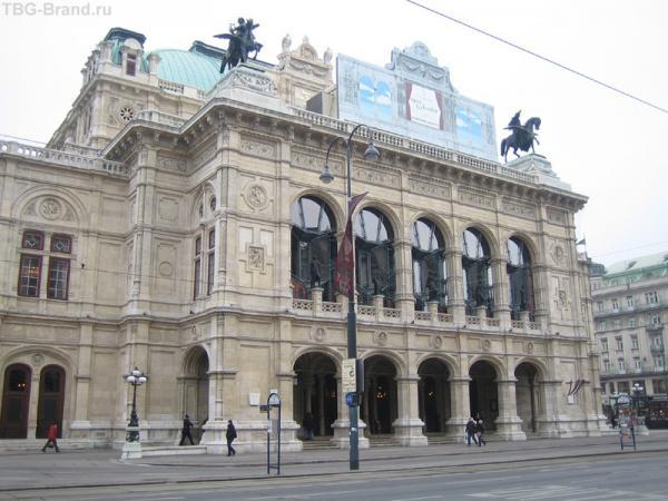 здание Венской оперы Staatsoper