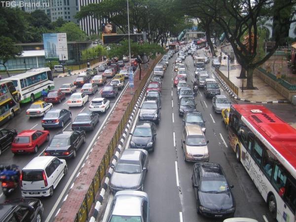 пробки КЛ, все машины стоят колом