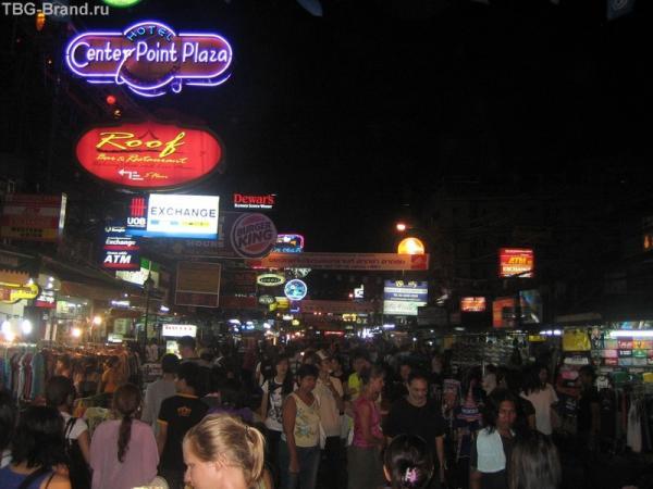 улица Bang-La Road на Патонге