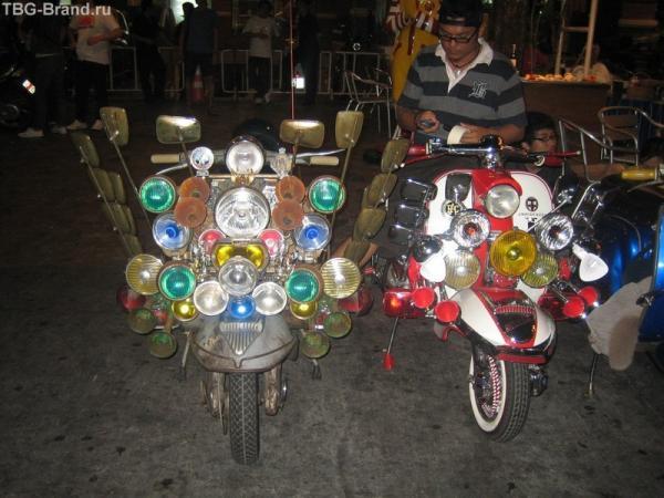 на Khaosan Rd. в Бангкоке