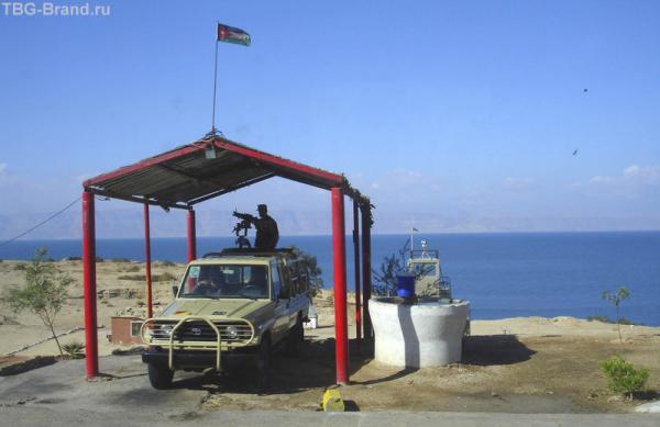 Возле иорданско-израильской границы